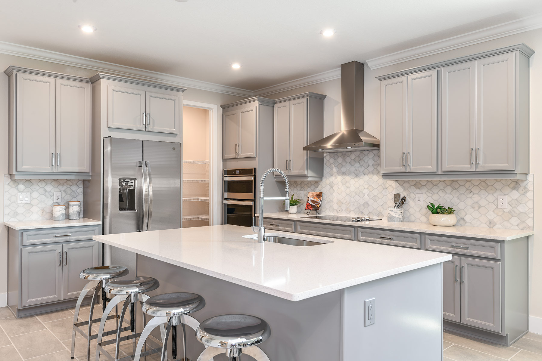 Dominica II Plan Kitchen at Wellen Park - Renaissance in Venice Florida by Mattamy Homes