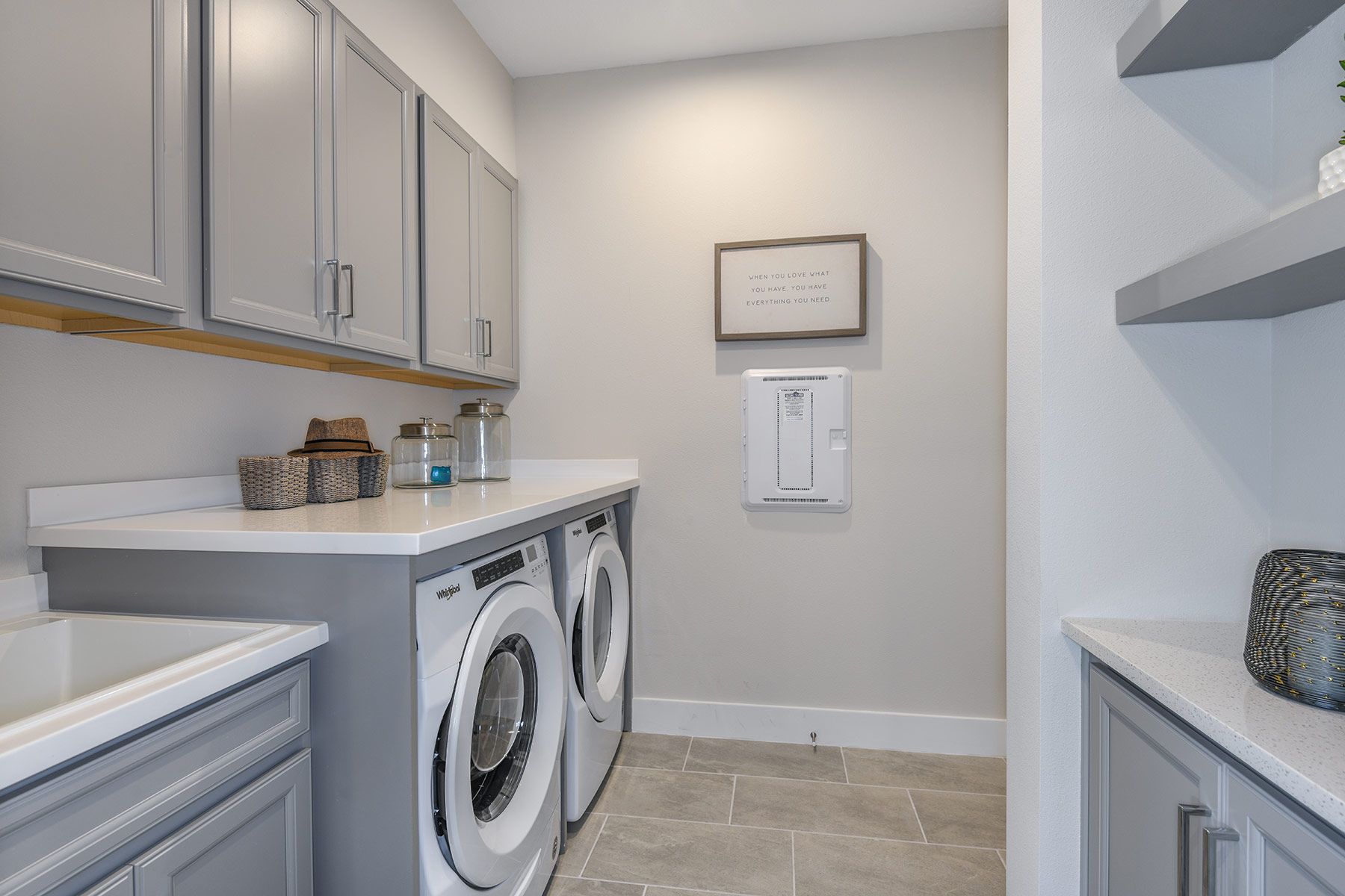 Dominica II Plan Laundry at Wellen Park - Renaissance in Venice Florida by Mattamy Homes