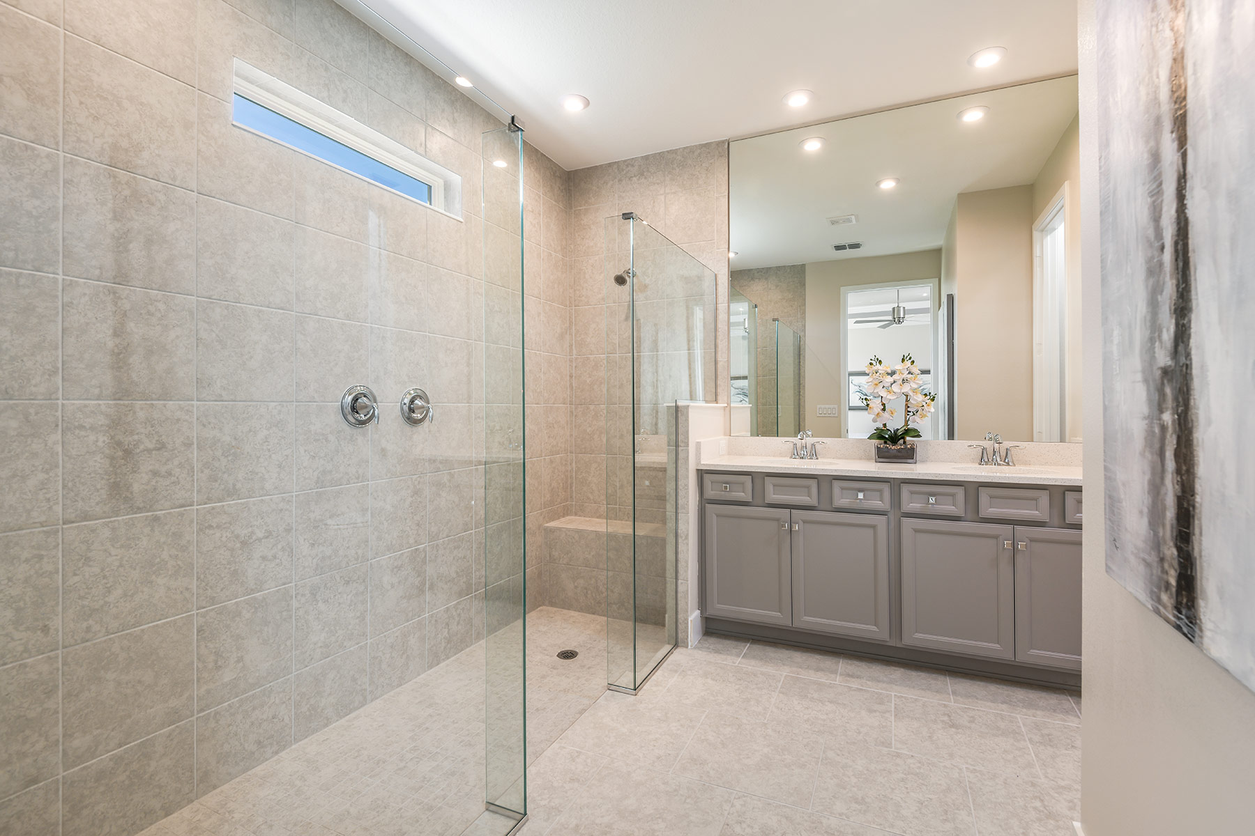 Dominica II Plan Bathroom_Master Bath at Wellen Park - Renaissance in Venice Florida by Mattamy Homes