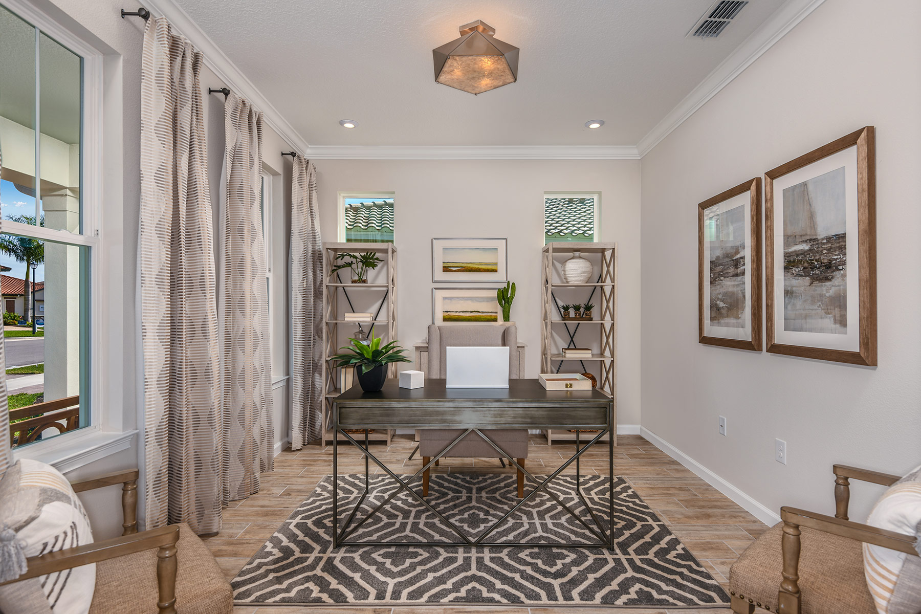 Riviera II Plan Study Room at Wellen Park - Renaissance in Venice Florida by Mattamy Homes
